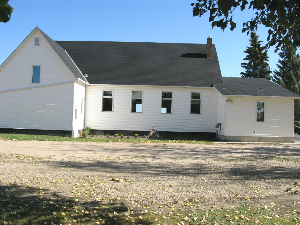 Aberdeen Mennonite Church - side view