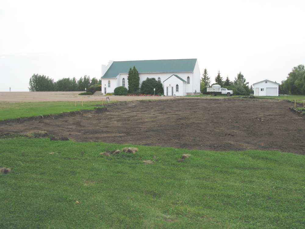 Eigenheim Mennonite Church - prairie view
