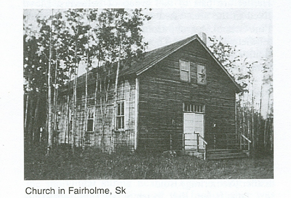 Fairholme Bruderthaler Mennonite Church