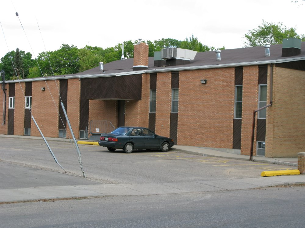 First Mennonite Church - parking side
