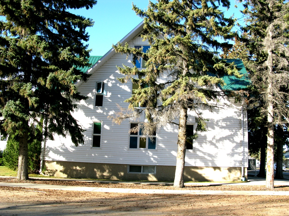 Hague Mennonite Church - south side
