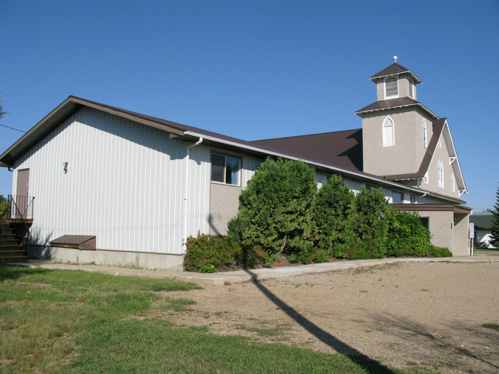 Martensville Mission Church - side view