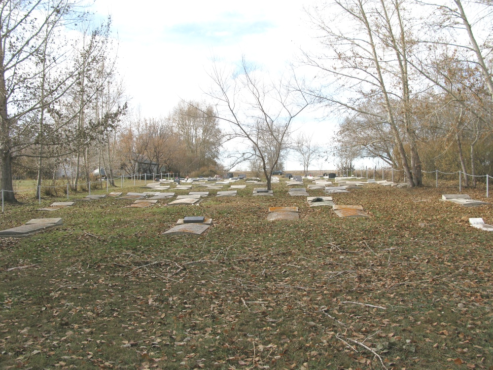 Neuanlage Cemetery - from east