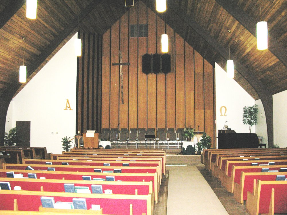 interior - Nutana Park Mennonite Church