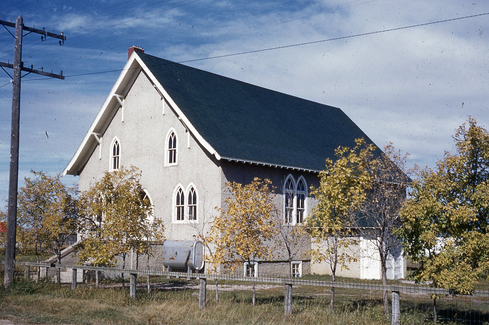Osler Mennonite Church - 1953