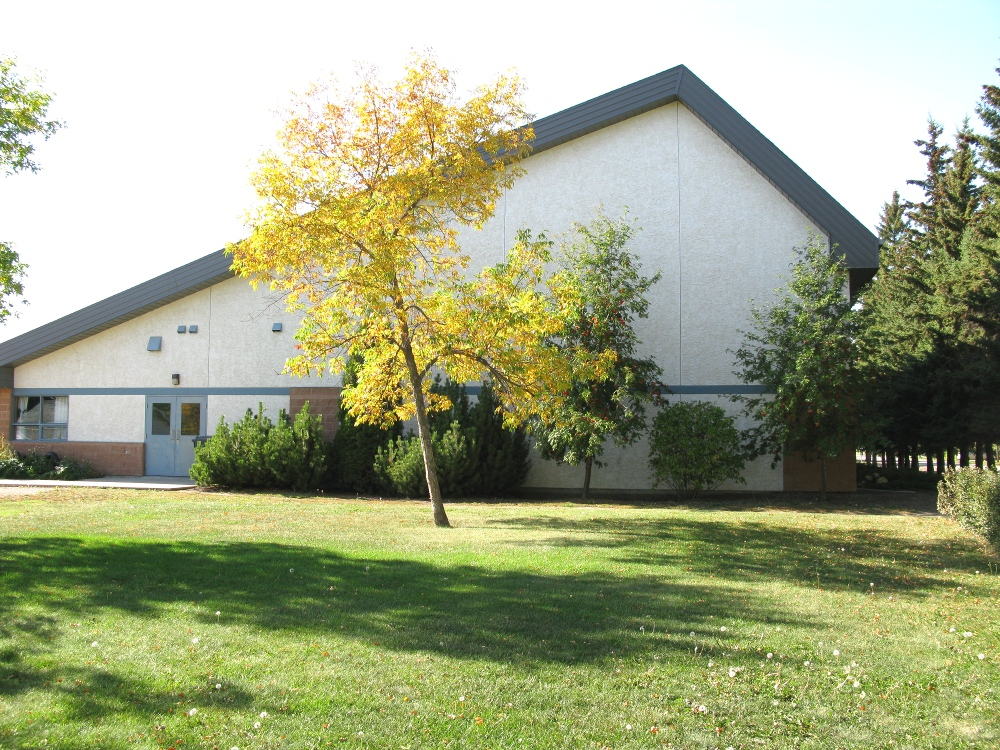 Osler Mennonite Church - eastside view