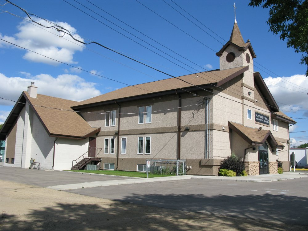 Pleasant Hill Mennonite Church from the south side