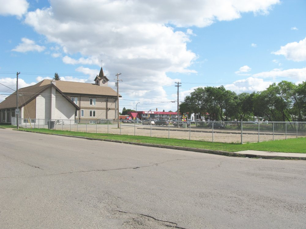 Pleasant Hill Mennonite Church - from rear