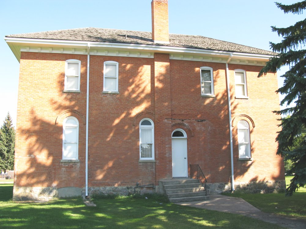 Rosthern Heritage Museum - in shade of tree