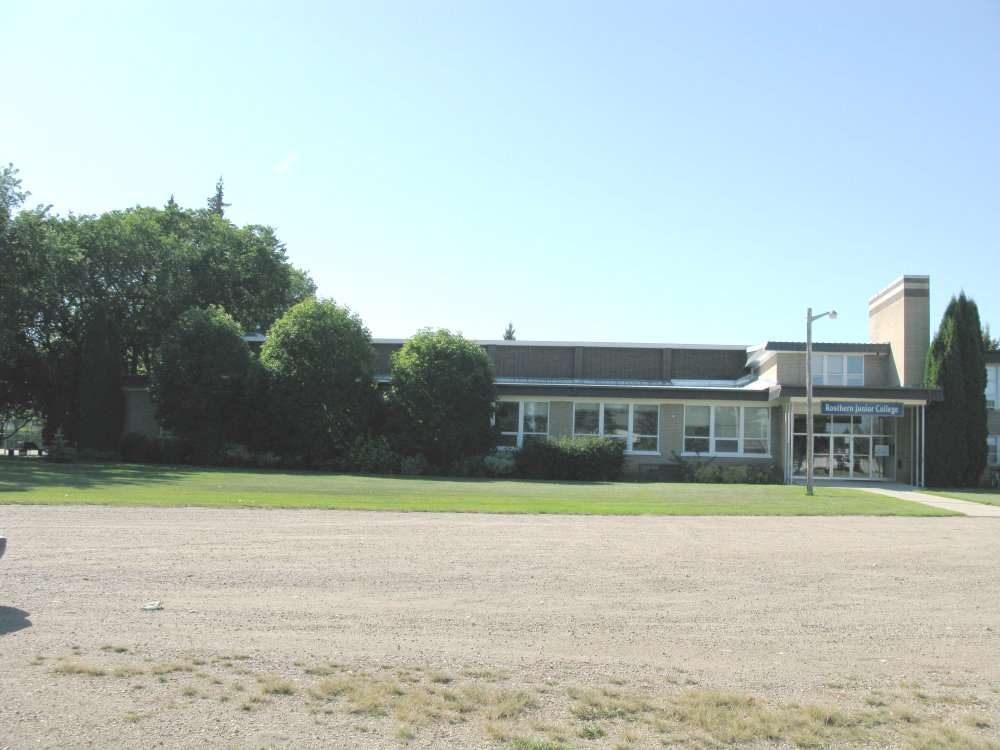 Rosthern Junior College - front view