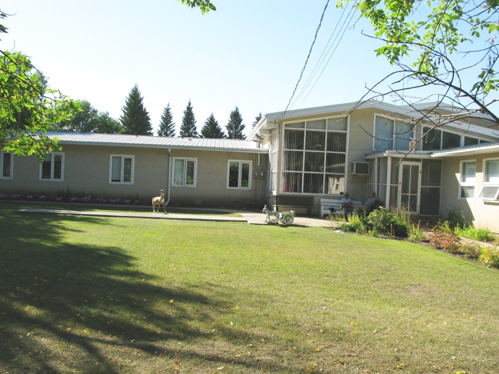 Rosthern Mennonite Home for the Aged - south lawn view