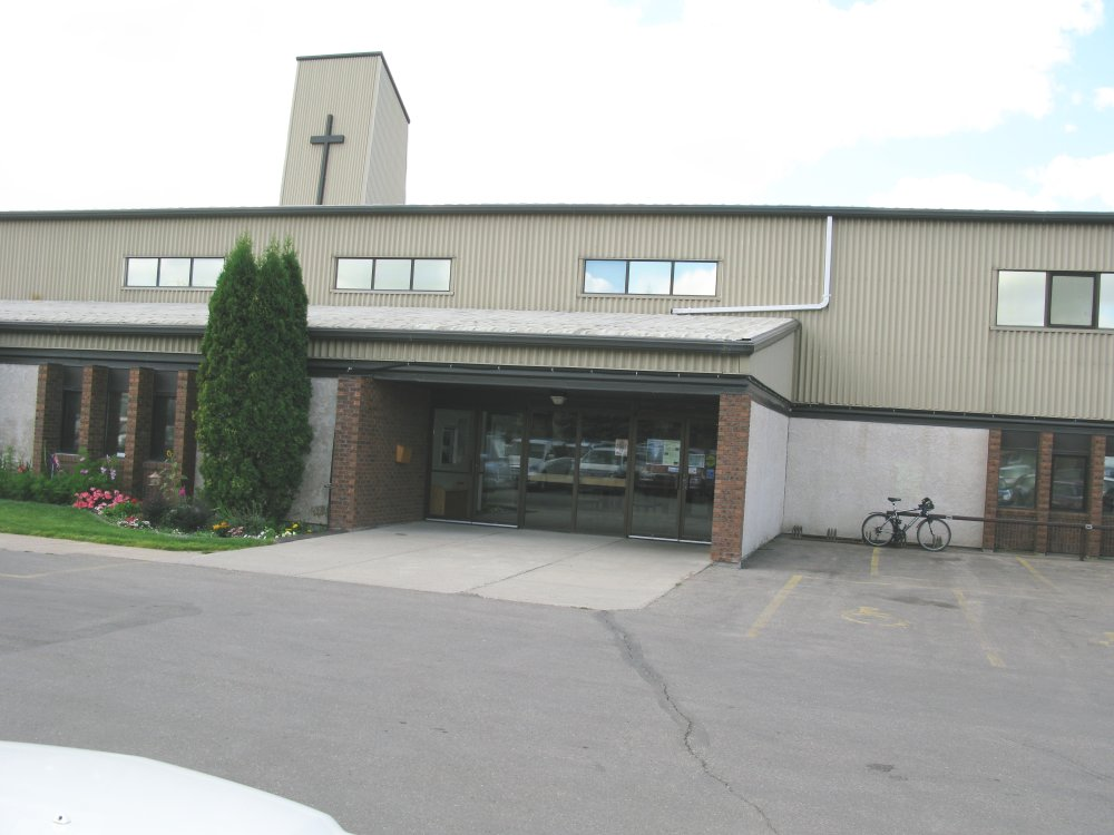 West Portal Mennonite Brethren Church - main east entrance