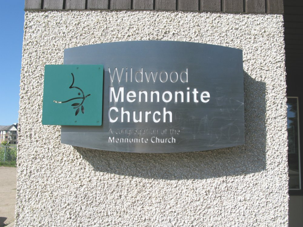 Wildwood Mennonite Church - Sign