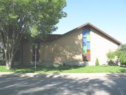 Faith River Mennonite Brethren Church - south end