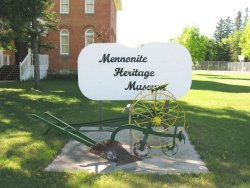 Rosthern Heritage Museum - Sign