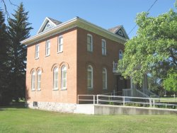 Rosthern Heritage Museum - from back