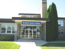 Rosthern Junior College - main entrance