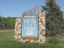 Mennonite Youth Farm Compex -sign