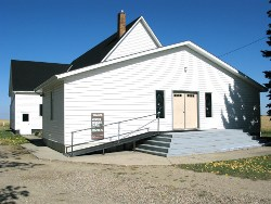 Aberdeen Mennonite Church - front doors