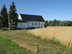 Aberdeen Mennonite Church - North side