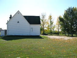 Aberdeen Mennonite Church - rear view