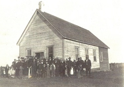 The Lost River Bethany Mennonite Church in 1917