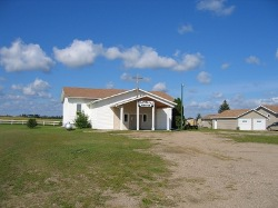 Bethany Mennonite at Lost River, SK - today