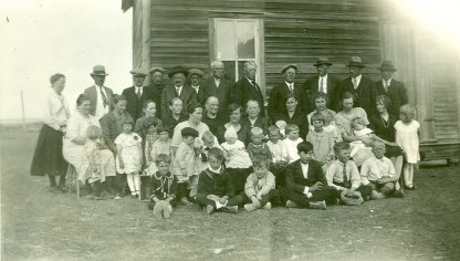 the people of the Madison church near Kindersley, SK.