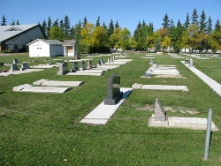 Osler Mennonite Church - cemetery