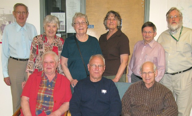 The MHSS Board for 2010